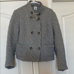 Cabi grey quilted jacket